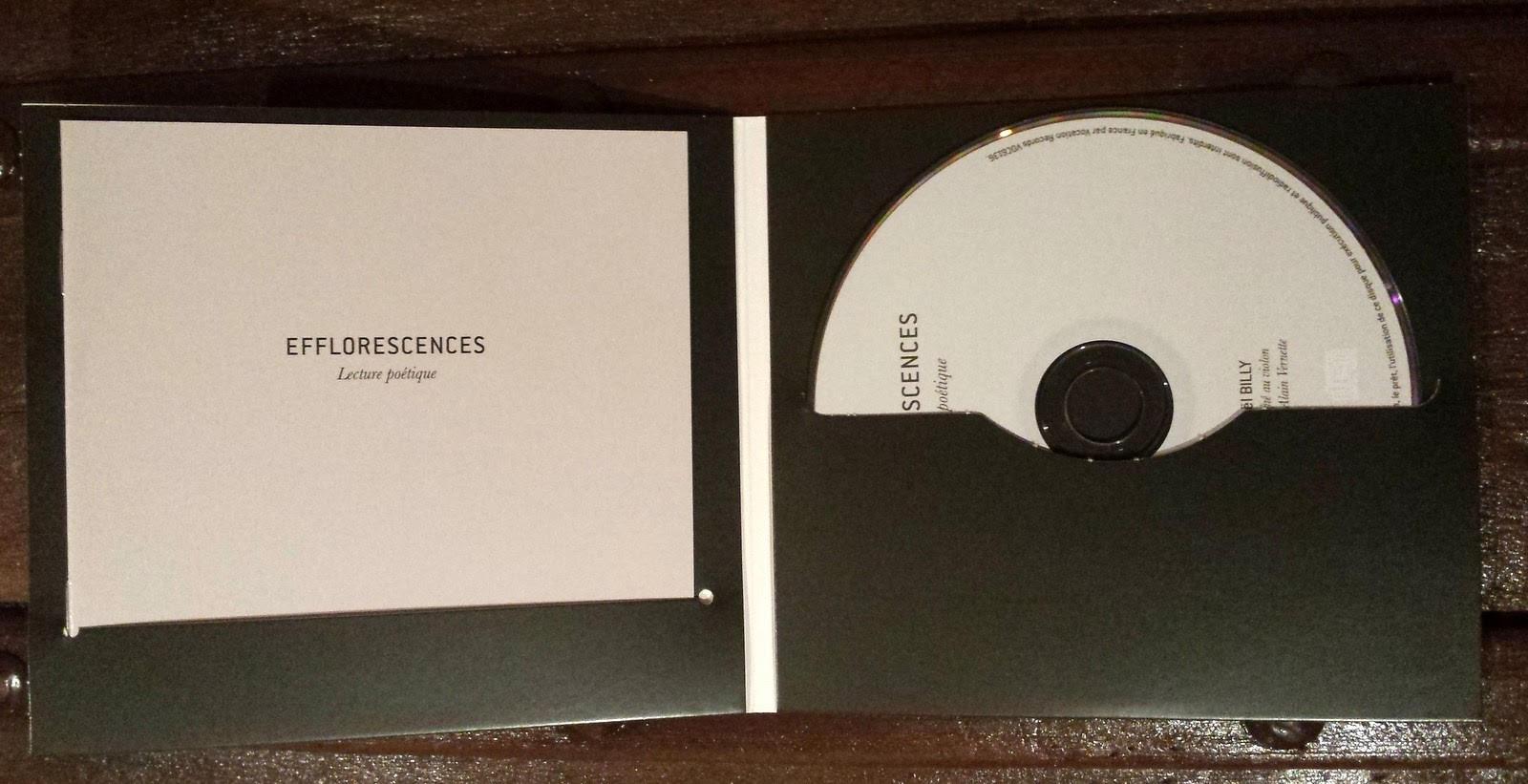 Interieur cd efflorescences
